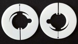 Laserschneiden von Reduzierscheiben aus POM C