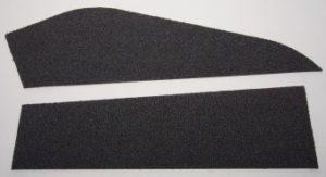 Laserschneiden von Teppich