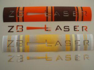 Laserschneiden von Storenstoff