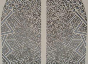 Laserschneiden von Karton-Ornament