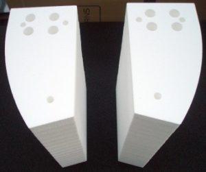 Laserschneiden von technischen Schaumstoff-Bauteilen