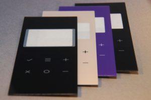 Laserschneiden bedruckte Abdeckscheiben aus Plexiglas