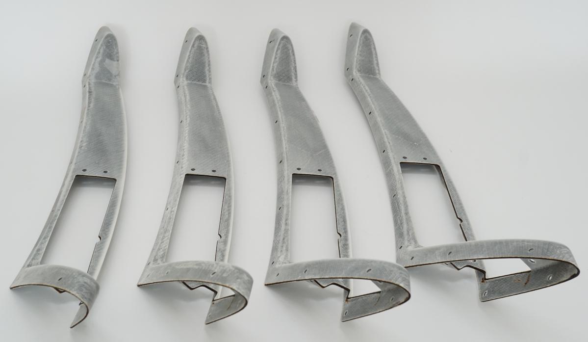 Laserschneiden von Winglets aus Verbundwerkstoff