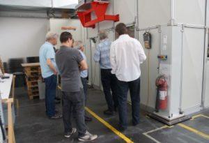 Laser-Apéro mit kaltundwarm bei der ZB-Laser AG