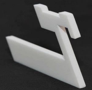 Laserschneiden von technischen Bauteilen aus TeflonPTFE