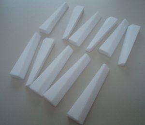 Laserschneiden von Schutzvorrichtungen aus PTFE