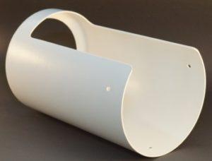 Laserschneiden von Schutzhaube aus Verbundwerkstoff