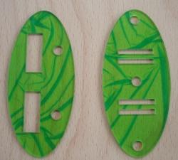 Laserschneiden von Abdeckscheiben aus Acrylglas PMMA