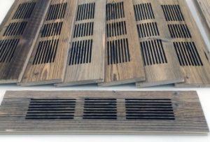 Laserschneiden von Lüftungsgitter aus Holz