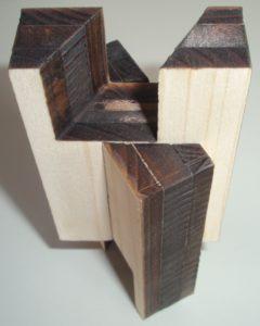 Laserschneiden von steckbaren Holzverbindungen