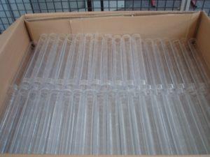 Laserschneiden von Polycarbonat-Rohre zu Durchflussmesser