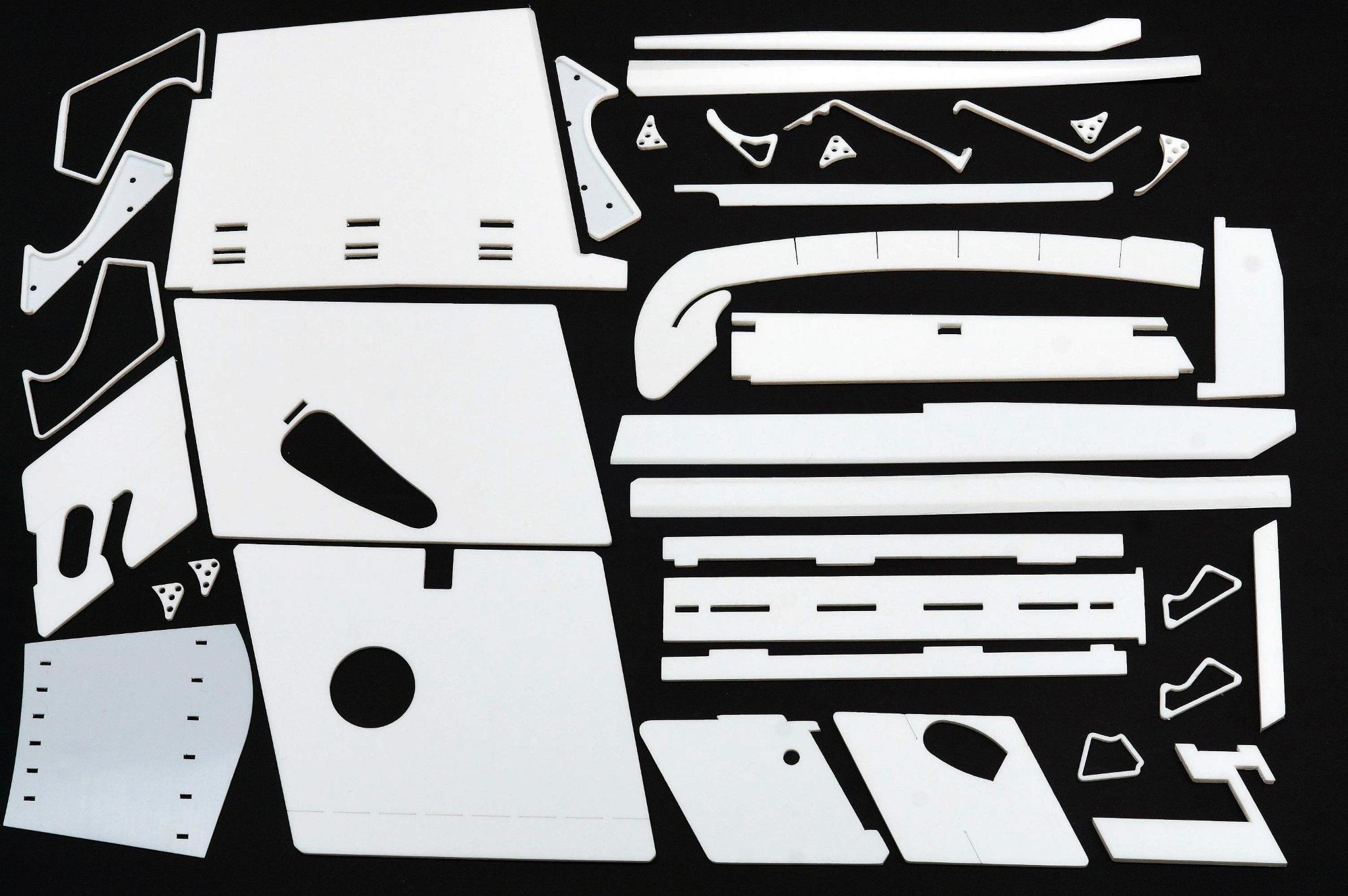 Laserschneiden von Teflon/PTFE-Bauteilen - ZB-Laser AG
