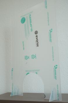 Laserschneiden von Schutzglas aus Acryl oder Plexi - ZB-Laser AG