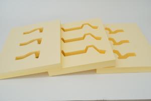 Laserschneiden von XPS-Hartschaumstoff